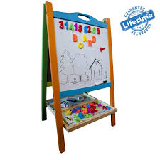 elk bear double sided magnetic whiteboard painting easel