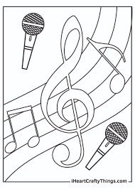 Halloween music coloring pages free. Printable Music Coloring Pages Updated 2021