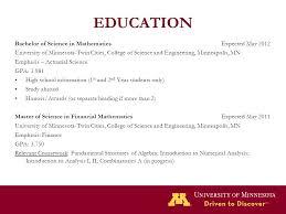mcfam minnesota center for financial actuarial mathematics  7 education