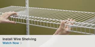 wire closet shelving. Wire Shelving Closet Organizer Shop Organization At Lowes Com 11