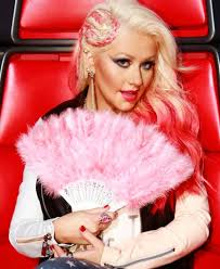 the voice christina aguilera s outfits ranked from worst to best christina aguilera christina aguilera eye makeup on the voice 2016