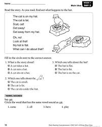 This page has a collection of 6th grade level reading comprehension articles, stories, and poems. Daily Reading Comprehension Grade 1 Grade 1 Reading Reading Comprehension Grade 1 Grade 1 Reading Worksheets