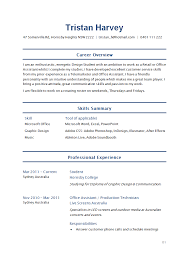 Academic Resume Template For College Amazing Gallery Of Sample Student Resume How To Write Academic Resume