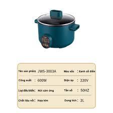 Nồi Lẩu Mini Đa Năng ( nấu canh, hầm, hấp, luộc...) Cắm Điện Cho 1-3 Người  Ăn Có Kèm Khay Hấp, Lòng Nồi Chống Dính - Nồi lẩu điện