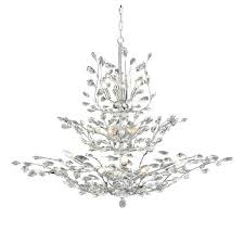 staggering fl orchid collection light chrome finish and clear crystal large chandelier large crystal chandelier uk