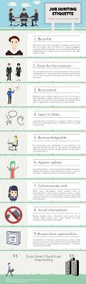 tips for job hunting etiquette 9 tips for job hunting etiquette