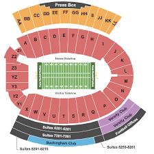 Broken Arrow Stadium Seating Chart 2020 Wisconsin Badgers Football Season Tickets