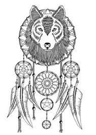 Books About Dream Catchers Wolves Dream Catcher Coloring Pages wolf dreamcatchers 52