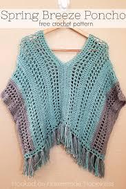 Free Crochet Poncho Pattern Cool Decorating