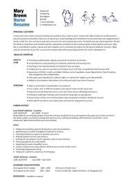 Modern Ideas Nursing Resume Template Word Registered Nurse Resume
