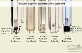 monarch c 300a 20 aluminum basement window insert single pane glass 20
