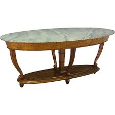 Italian Marble Coffee Table Italian Marble Top Center Table From Ofleury On Ruby Lane