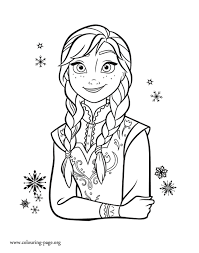 Small Picture Anna Coloring Pages GetColoringPagescom