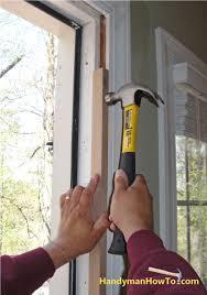 installing front doorInstalling Exterior Door  Exterior Idaes
