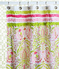 contemporary shower curtain rings best of dena home moroccan garden shower curtain available at dillards than