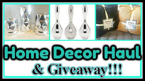 Small Picture HOME DECOR HAUL GIVEAWAY Closed Feat Hollar YouTube