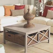 coffe table amazing under coffee table storage baskets home under intended for well known coffee tables