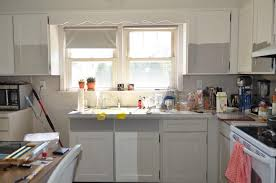 image of best white paint for kitchen cabinets behr