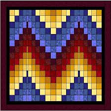 We feature Plumcreek Quilts kits and patterns, Moonglow Quilt kits ... & BARGELLO QUILT II 110X110 $199.00 Adamdwight.com