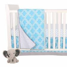 Gray Pleated Lambs & Ivy Jensen Collection Dust Ruffle Crib Bedding Bedding
