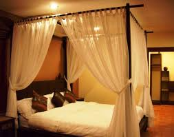 Fascinating Bed Canopy Curtains Pictures Ideas