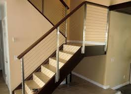Stainless Stair Railing modern-staircase