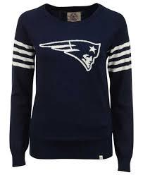 Blue Patriots Needle Women's Sweater Drop Brand 47 England New