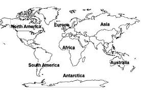 Small Picture World Map of All Continents Coloring Pagejpg Map Pictures