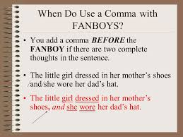 When To Use Comma When To Use Comma Before And Tirevi Fontanacountryinn Com