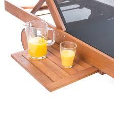 Ultranatura 200100001055 sedia a sdraio in legno e tessuto serie