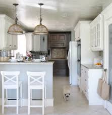 white country cottage kitchen. Elegant Cottage Kitchen In White And Gray Country I