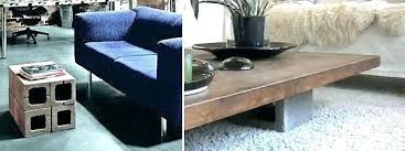 cinder block furniture. Contemporary Furniture Cinder Block Furniture Concrete Ideas View In Gallery  Coffee Table Intended Cinder Block Furniture