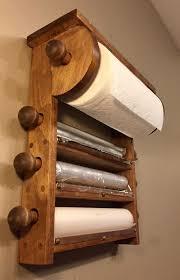 kitchen towel holder wall mounted. Kitchen Roll Holder, 4 Dispenser, Wall Mount. Paper Towel, Seran Wrap Towel Holder Mounted T