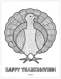simple coloring page of a beautiful turkey to color for the thanksgiving day