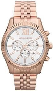 michael kors mk8313 mens lexington watch wrist watch £189 00 by rose gold