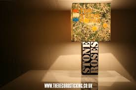 Handmade '<b>The Stone</b> Roses Stencil Lamp + Album or Single ...