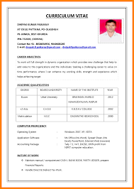 5 Cv Sample For Job Application Nurse Homed