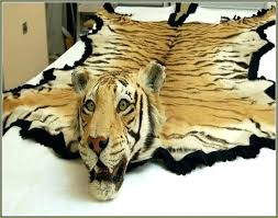 fake animal rug lion head rug the tiger skin rug co fake animal head rug fake animal rug