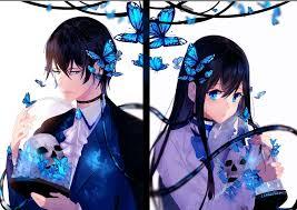 Image of anime couple home facebook. Anime Couple Wallpaper
