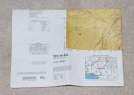 Us Military Tactical Pilotage Chart Tpc H 8a Afghanistan