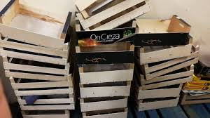 description free wooden fruit crates