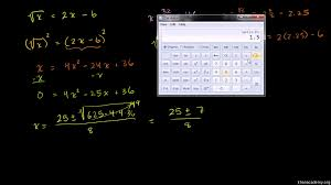 intro to square root equations extraneous solutions khan academy