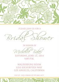 Free Bridal Shower Invitations Templates Fascinating Free Printable Wedding Shower Invitations Templates Fwauk