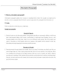 Self Descriptive Essay Example Dew Drops
