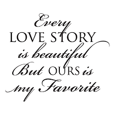 Love Wall Quotes Beauteous Every Love Story Wall Quotes™ Decal WallQuotes