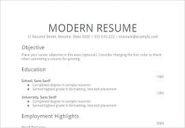 Simple Resumes Examples Amazing A Simple Resume Samples Example Template 28 mmventuresco