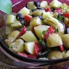 balsamic vinegar potato salad by george