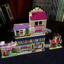 mive lego friends building olivia s house heartlake high stephanie s beach house bakery