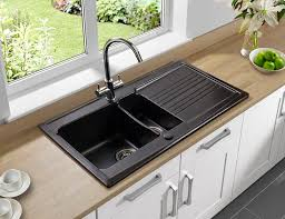 terrific undermount kitchen sinks with drainboard google search home at sink