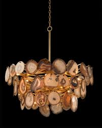 photo 6 of 9 agate sliced chandelier charming john richards chandeliers 6